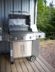 Cook ourdoors on our Weber Genesis II Premium Grills