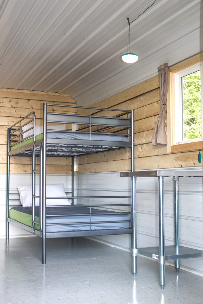 Bunk beds are great for young guests.