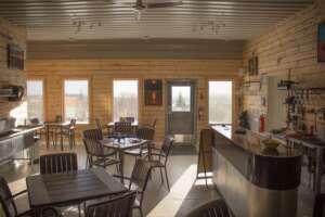 Iron Mountain Lodge - Nova Scotia's first 100% off-grid licensed pub.
