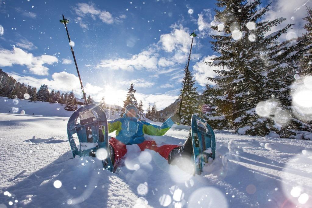 Snowshoeing - Iron Mountain Wilderness Cabins