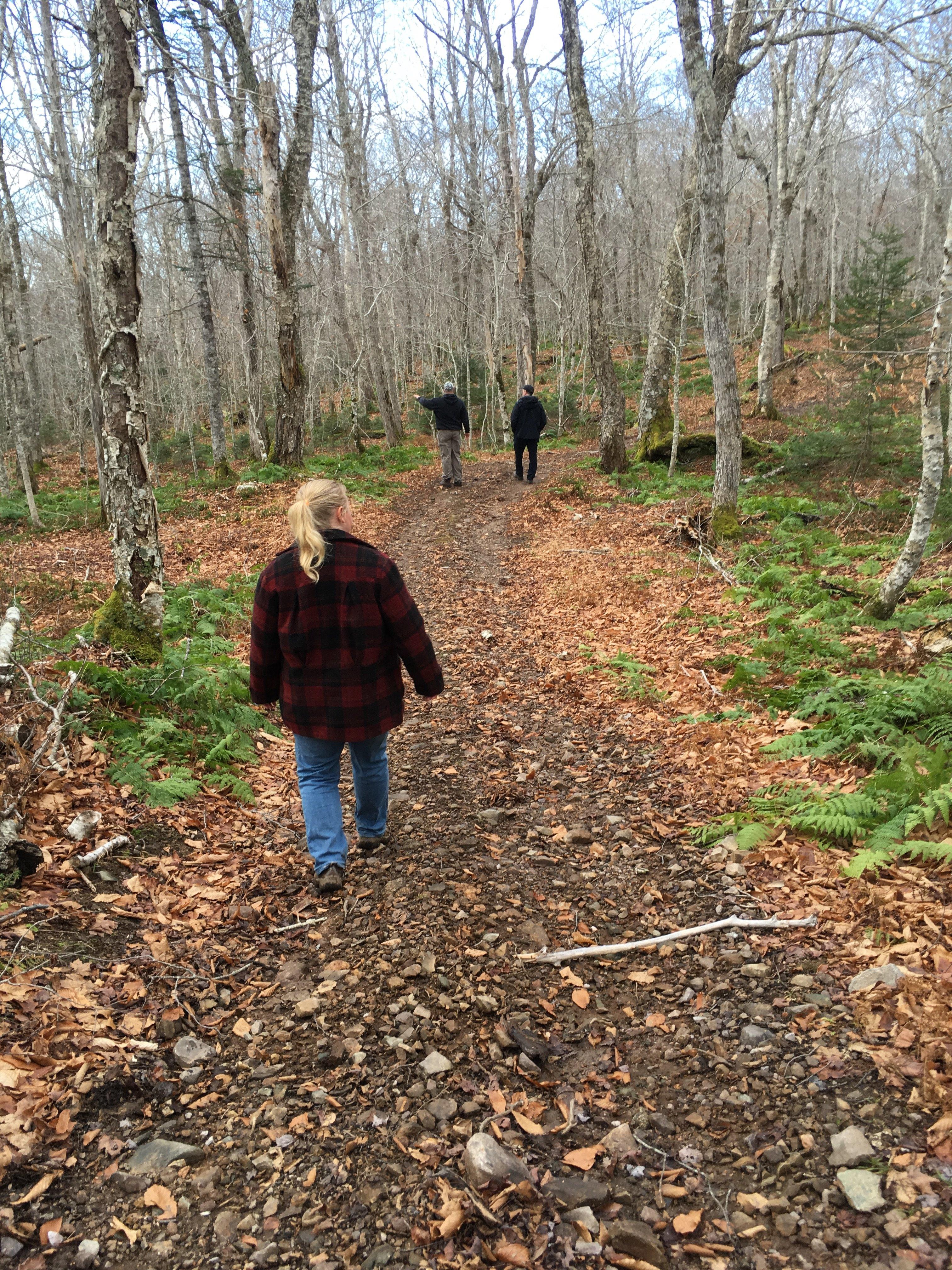 Hiking on Cape Breton Island