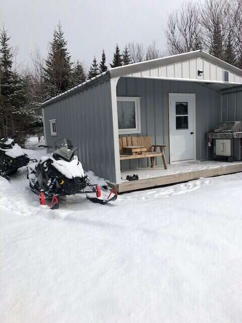 Snowmobiling in the Cape Breton Highlands